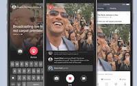 Facebook começa a testar a inclusão de anúncios nas transmissões ao vivo