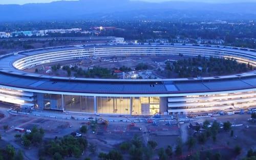 Umas voltas pelo Apple Park: veja como está a construção da nova sede da Apple
