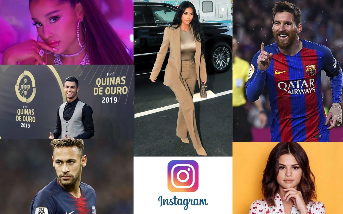 10 perfis mais seguidos do Instagram no mundo [ATUALIZADO Setembro/2019]
