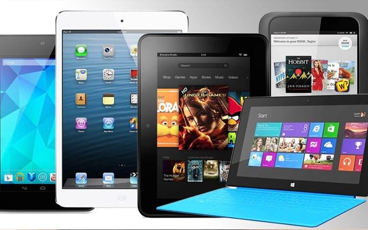 Tablets perdem 8% em vendas