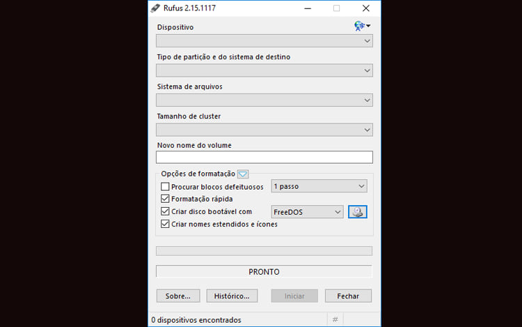 Como executar o Windows 10 a partir de uma unidade USB