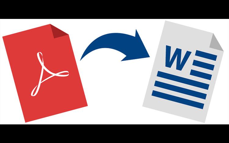 Como converter PDFs para documentos do Word