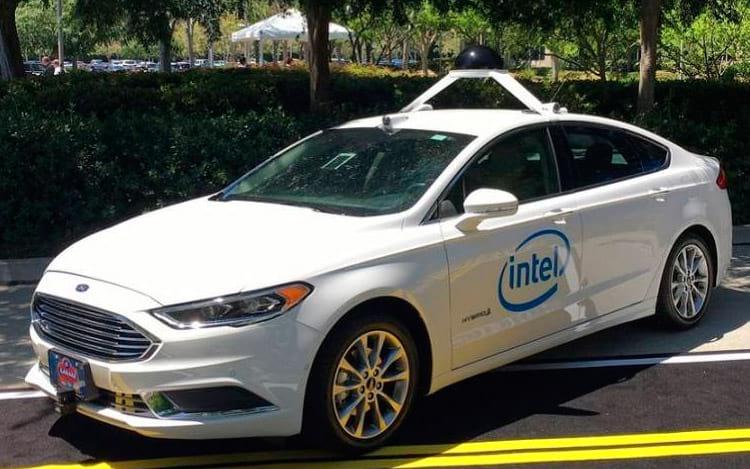 Carros autônomos Intel