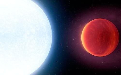 Cientistas descobrem planeta com 4,3 mil graus centígrados