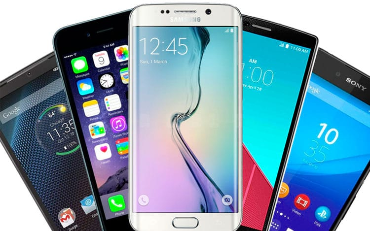 Smartphones em crescimento, enquanto tablets e PCs em queda