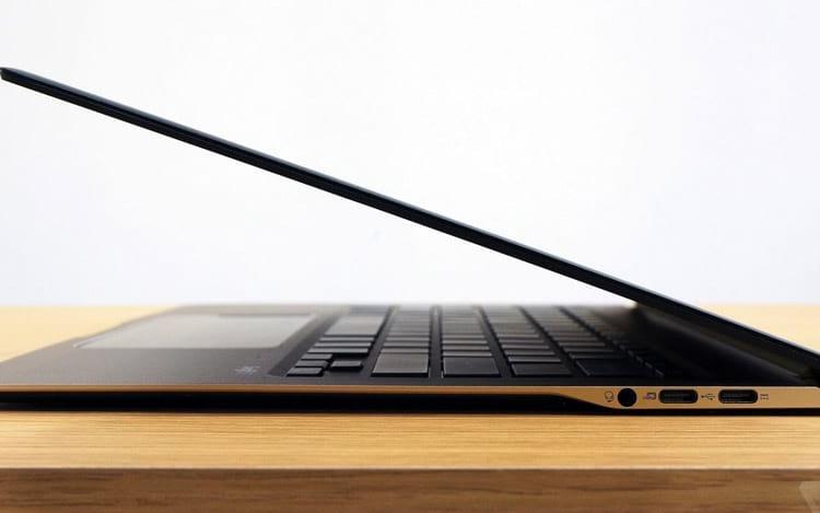 Acer Swift 7 visão lateral