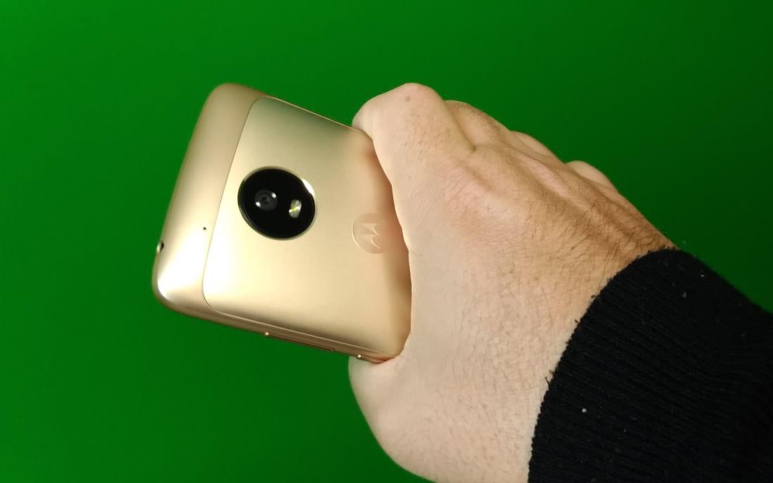 Moto G5 Pegada