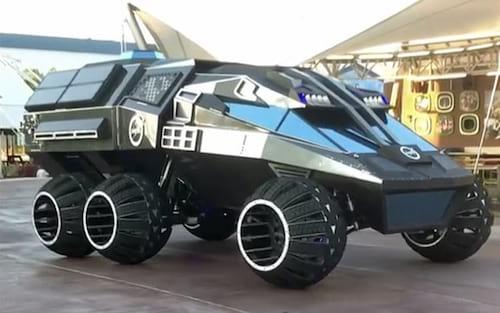 Nasa exibe veículo semelhante ao do Batman