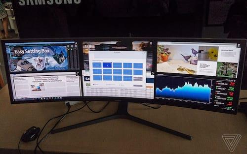 Samsung anuncia monitor widescreen de tela curva