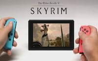 E3 2017: Skyrim para Switch terá set de roupas de Link