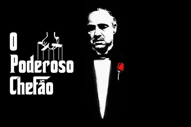 Marlon Brando como o poderoso Dom Corleone