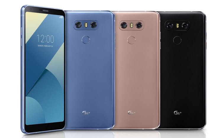 LG lança o LG G6 Plus