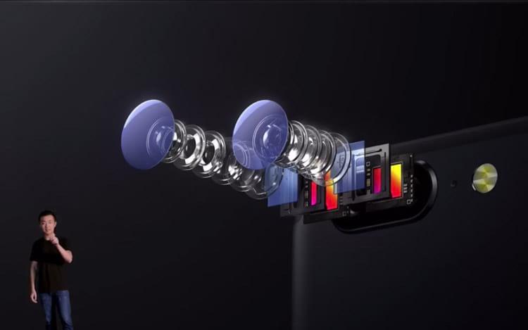 OnePlus 5 - Conjunto de câmeras
