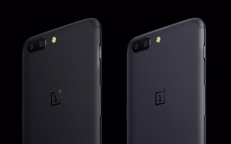 OnePlus 5 - duas cores