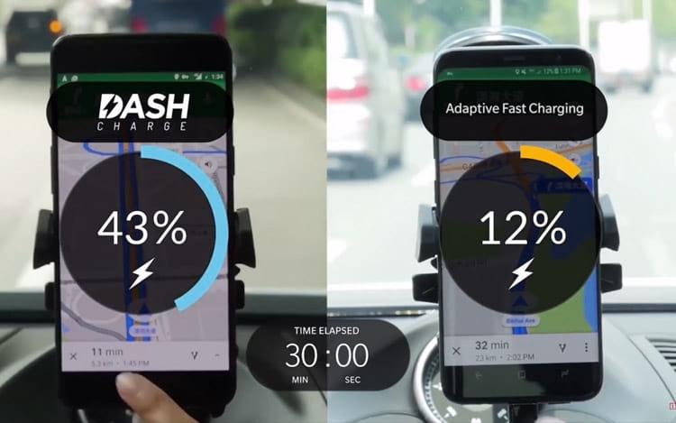 OnePlus 5 - bateria com Dash Charge