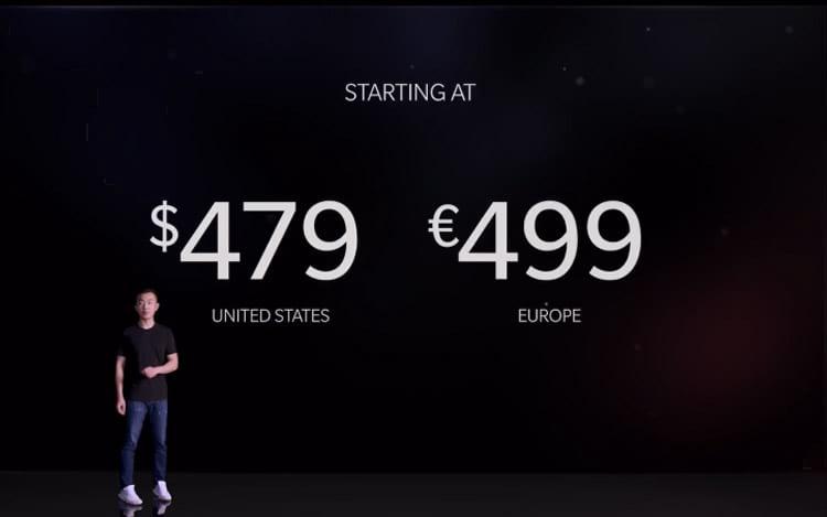 OnePlus 5 - preço de lançamento
