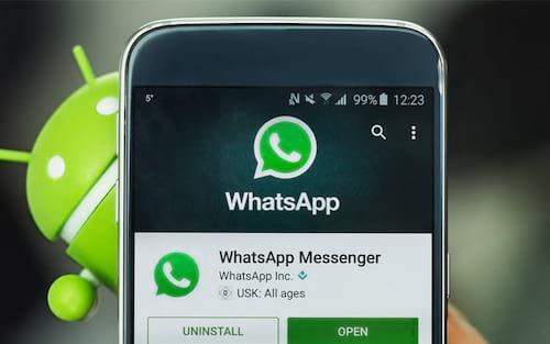 WhatsApp disponibiliza nova lista das versões do Android que serão abandonadas