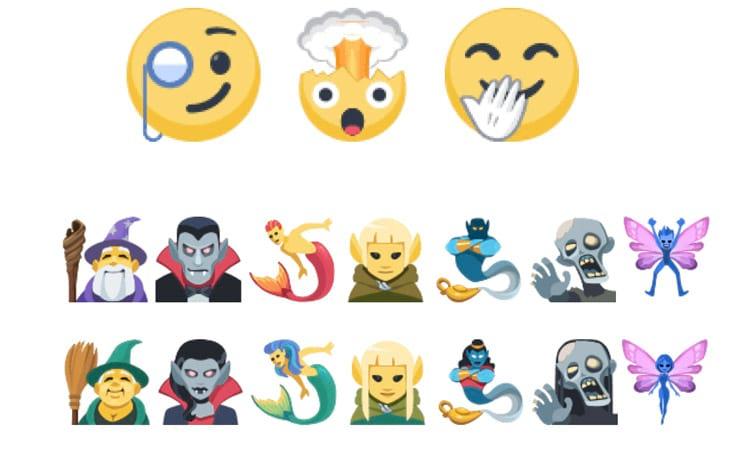 Novos Emojis no Facebook