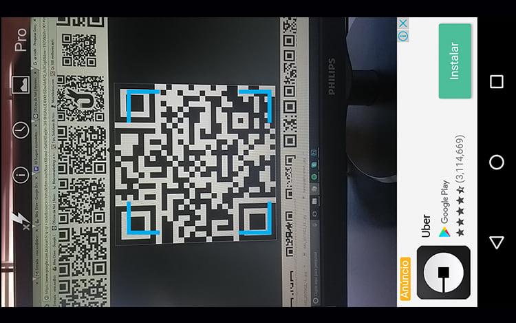 Leitores de QR Code e Código de barras.