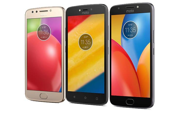 Motorola lança Moto E4, E4 Plus e C Plus no Brasil