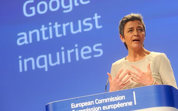 União Europeia multa o Google por práticas anticompetitivas. FOTO: EUobserver