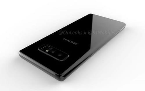 Vazam imagens do Galaxy Note 8 e o design é decepcionante