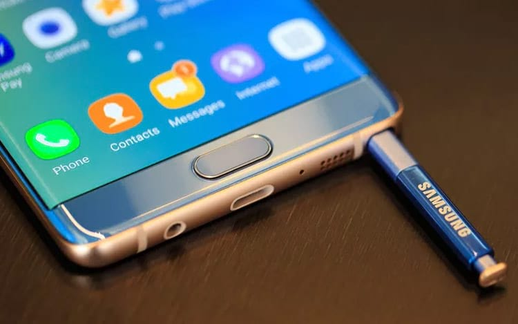 Galaxy Note 7 Refurbished vem aí