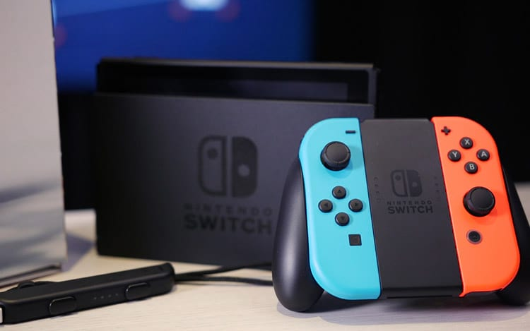 Nintendo Switch atinge 1 milhões de unidades vendidas