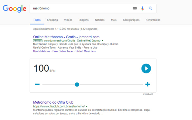 Easter Eggs escondidos no Google