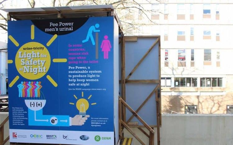 Projeto transforma urina em energia elétrica