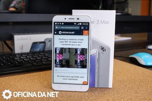 Android Nougat chega para o Zenfone 3 Max