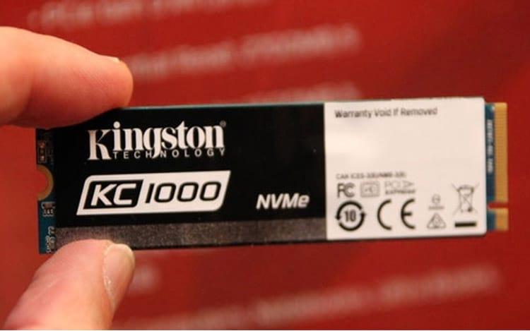 Kingston lança novo SSDNow KC1000 que promete ser 40 vezes mais veloz que HD