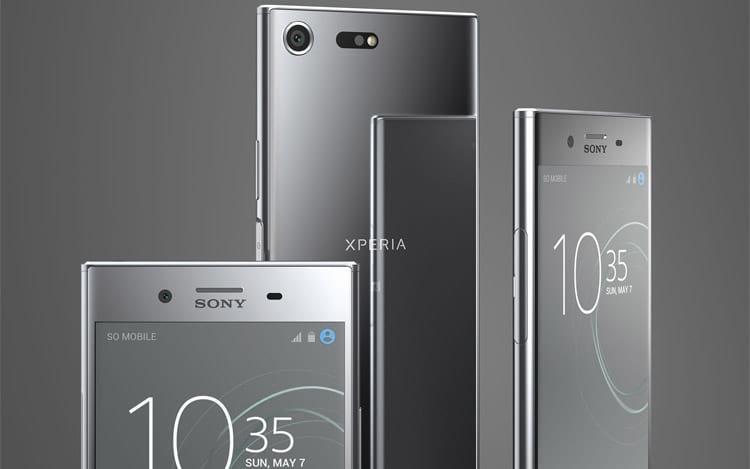 Smartphone intermediário da Sony