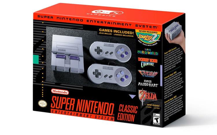 Segundo console clássico relançado pela Nintendo