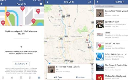 Facebook lança recurso que mostra onde achar Wi-Fi gratuito
