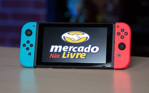 Mercado Livre proíbe venda do Nintendo Switch na loja