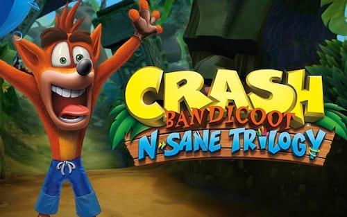 Crash Bandicoot lidera no TOP10 dos jogos mais vendidos da semana