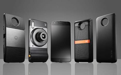 Lenovo revela novos módulos da família Moto Z