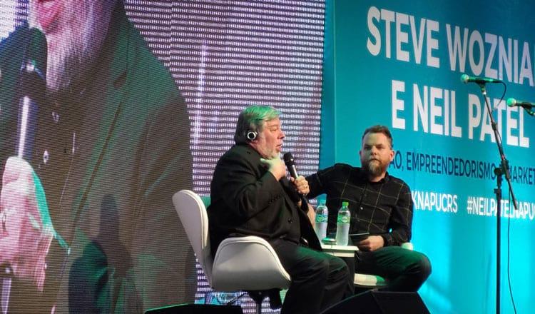 Steve Wozniak, um dos cofundadores da Apple Computers