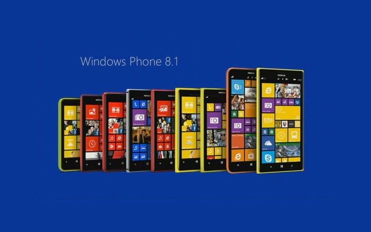 Microsoft deixará de fornecer suporte ao Windows Phone 8.1
