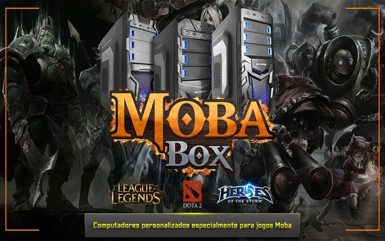 NVIDIA diz que o Moba Box é o equipamento perfeito para atletas profissionais e de finais de semana