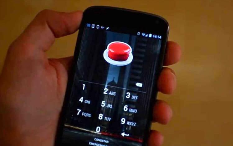"""Android com """"botão do pânico""""?"""