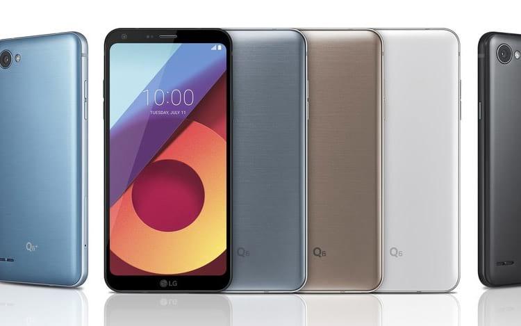 LG Q6 - lançamento da marca