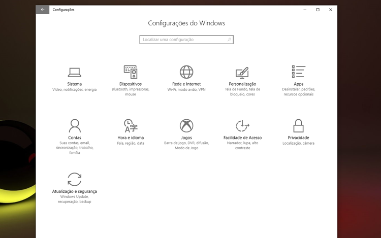 Como aumentar o desempenho e a autonomia da bateria no notebook com o Windows 10