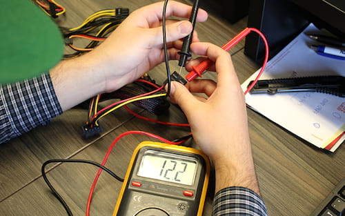 Como testar sua Fonte de Energia