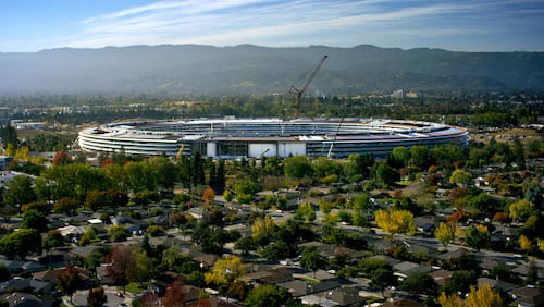 Vídeo mostra como estão as obras do Apple Park