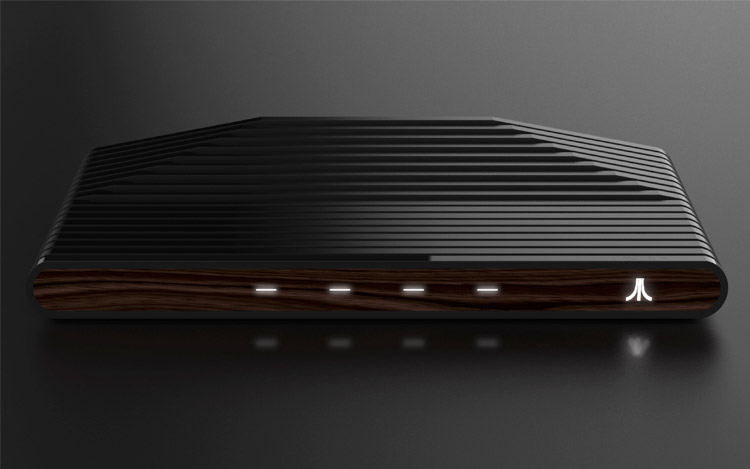 Versão Ataribox em madeira