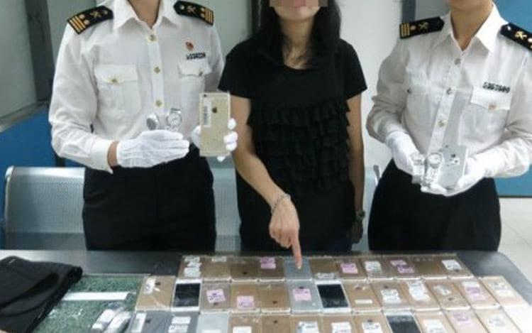 Tentativa de contrabando acaba em prisão
