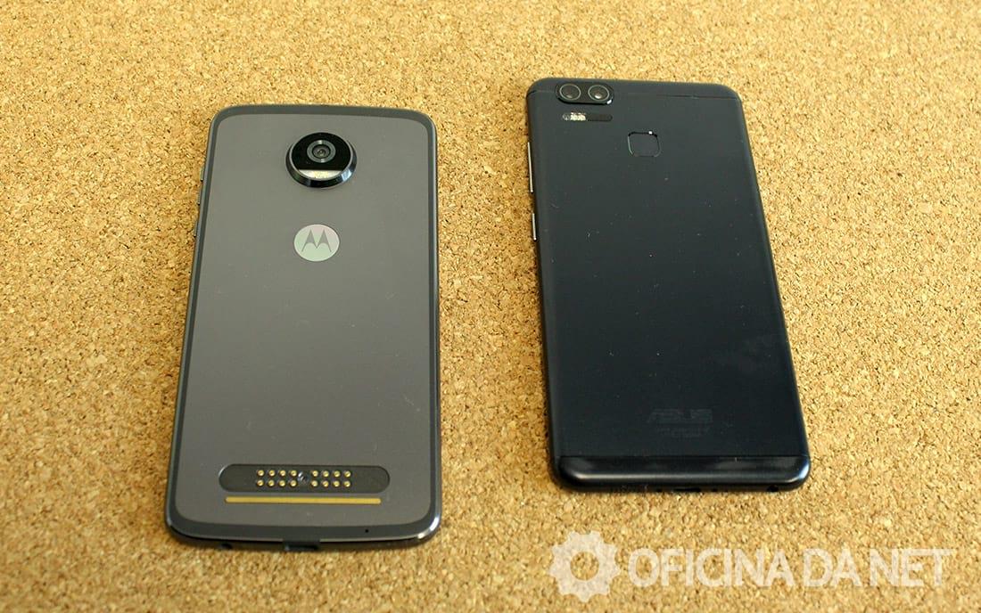 Comparativo: Moto Z2 Play vs Zenfone 3 Zoom