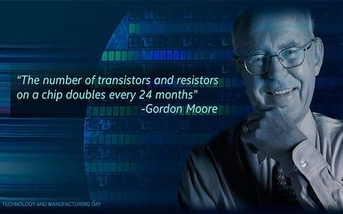 O que é a Lei de Moore